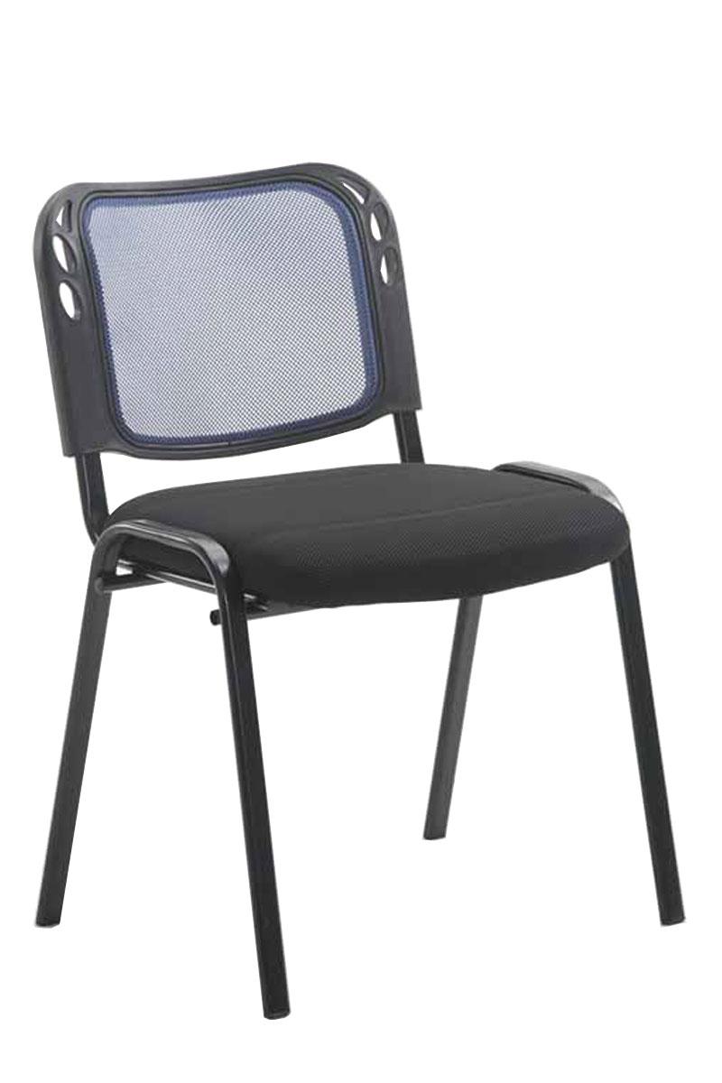 Konferenční židle Michael, černá/modrá