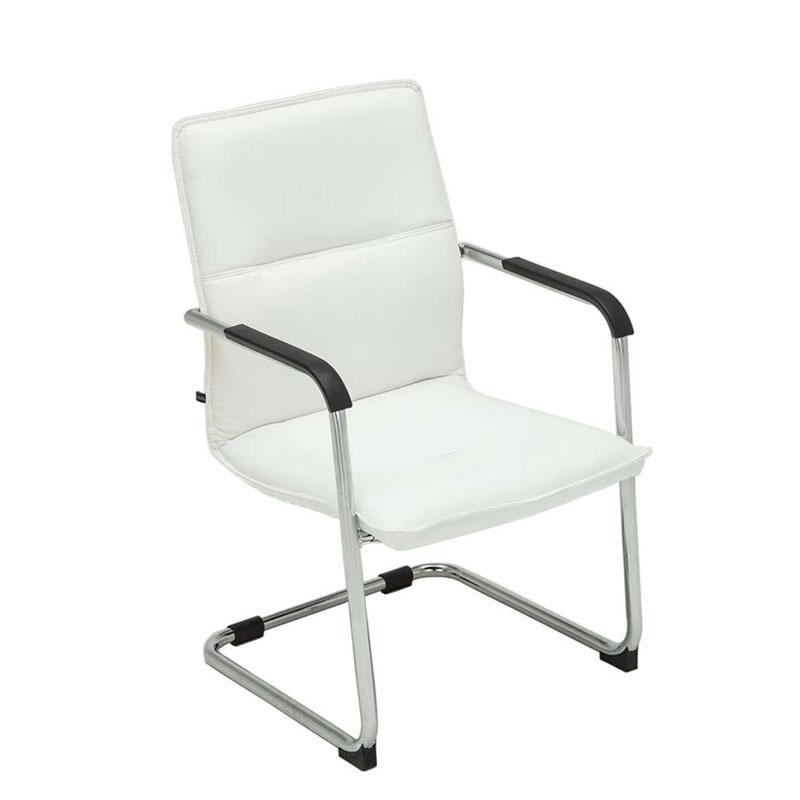 Konferenční židle s područkami Hudson černá