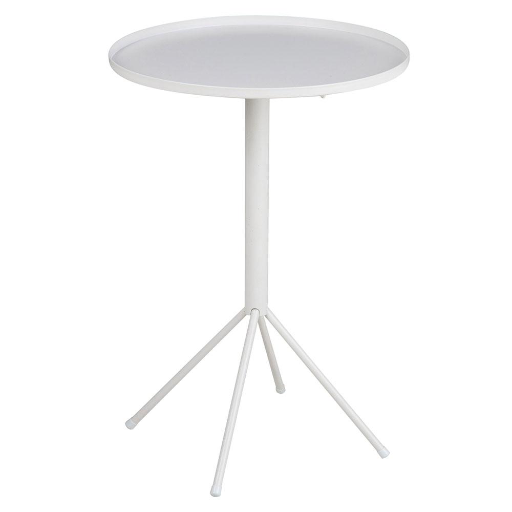 Konferenčný / nočný stolík Silva, 35 cm, biela