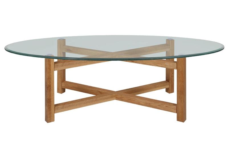 Konferenčný stolík Amelie, 140 cm, číra