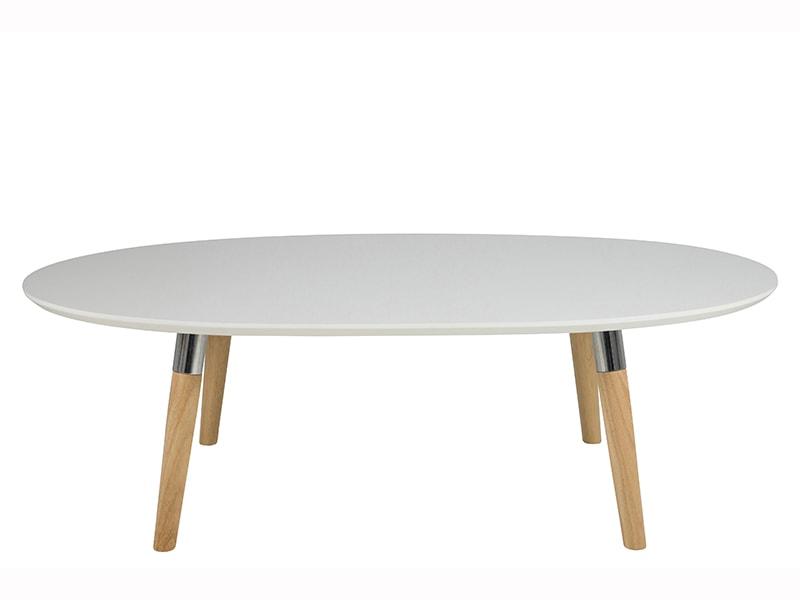 Konferenčný stolík Ballet, 135 cm, biela / dub