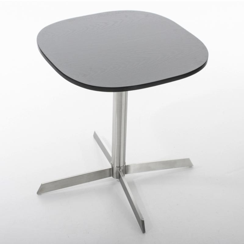 Konferenčný stolík Charlie, 60 cm, čierna, čierna