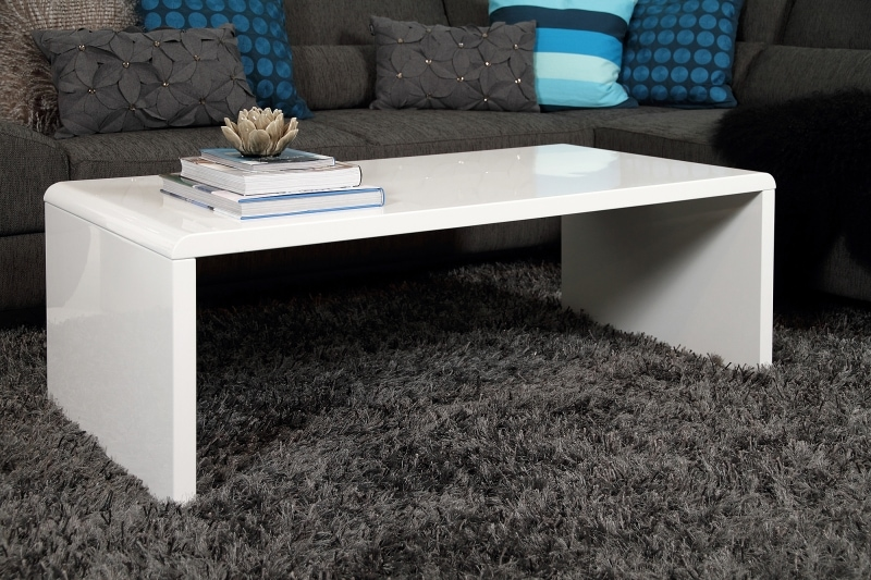 Konferenčný stolík Daisy, 120 cm, biela