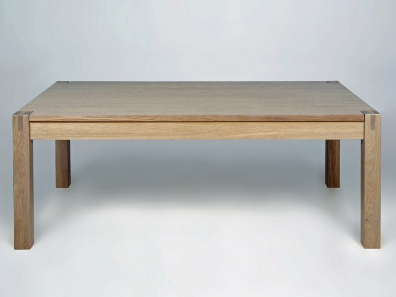 Konferenčný stolík Heal, 135 cm, dub