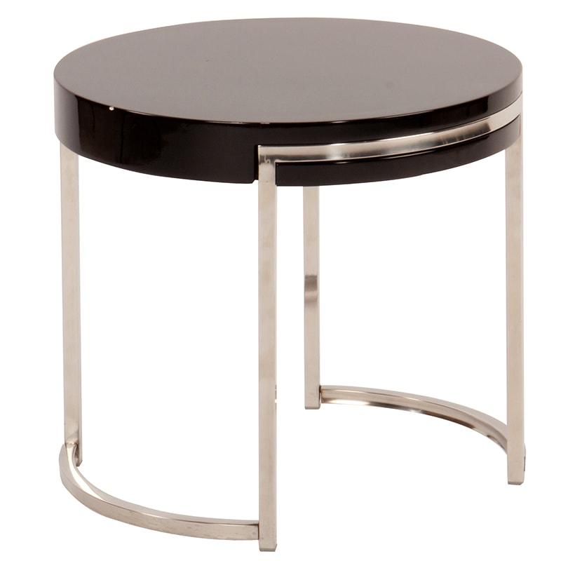 Konferenčný stolík Nino, 55 cm  čierna, čierna