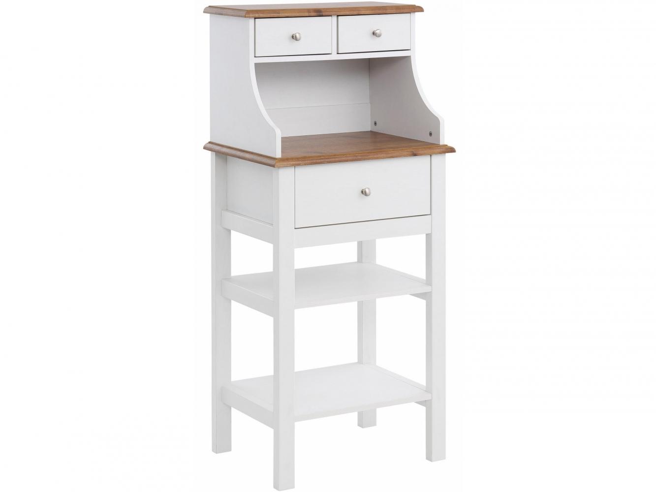 Konzolový stolek Keef, 130 cm, bílá
