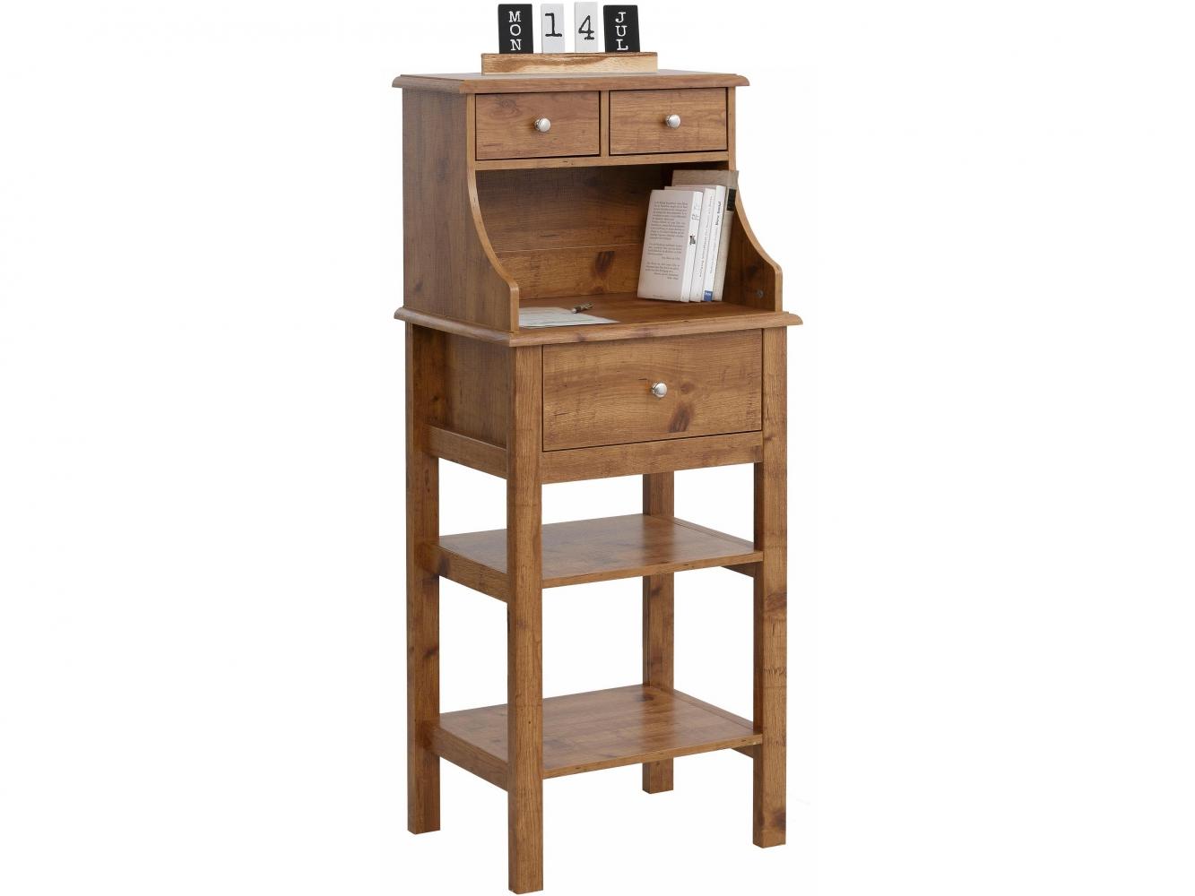 Konzolový stolek Keef, 130 cm, tmavý dub
