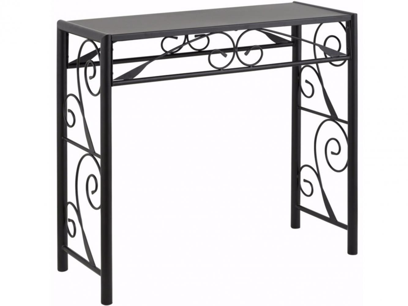 Konzolový stůl Dion, 90 cm, černá