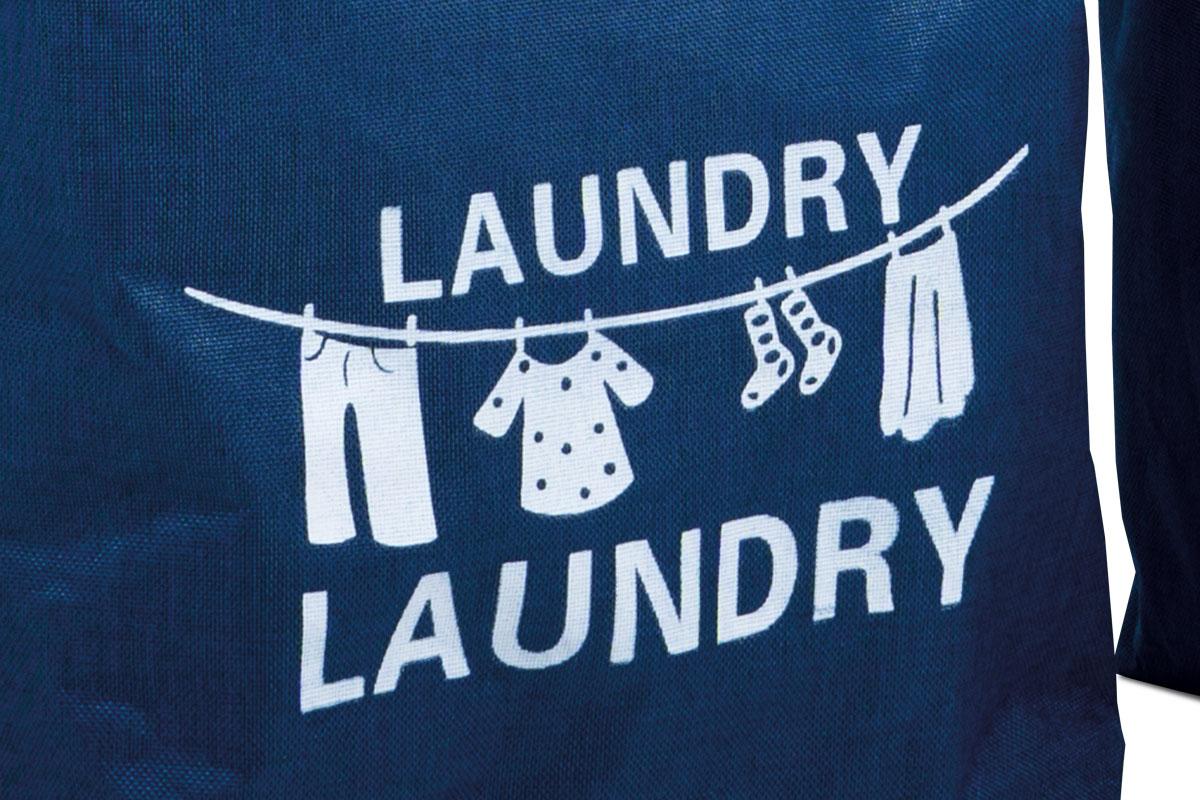 Koš na prádlo Biagio (SET 3 ks), modrá