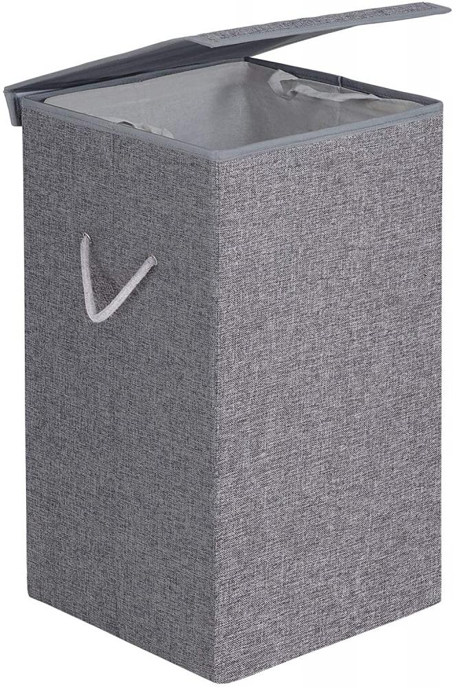 Koš na prádlo Emila, 66 cm, šedá