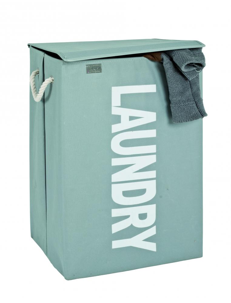 Koš na prádlo Launder, 62 cm, šedá