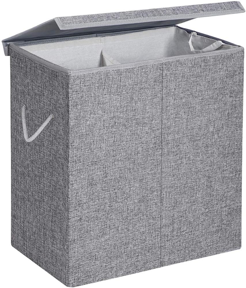 Koš na prádlo Malen, 66 cm, šedá