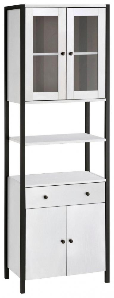 Koupelnová skříň Leopold, 180 cm, bílá