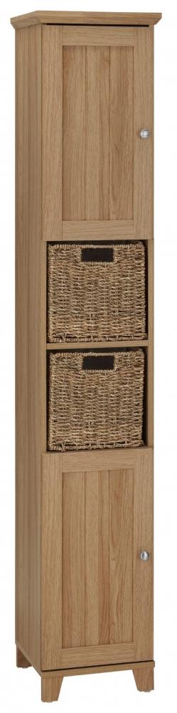 Koupelnová skříňka Amigo I., 175 cm, dub
