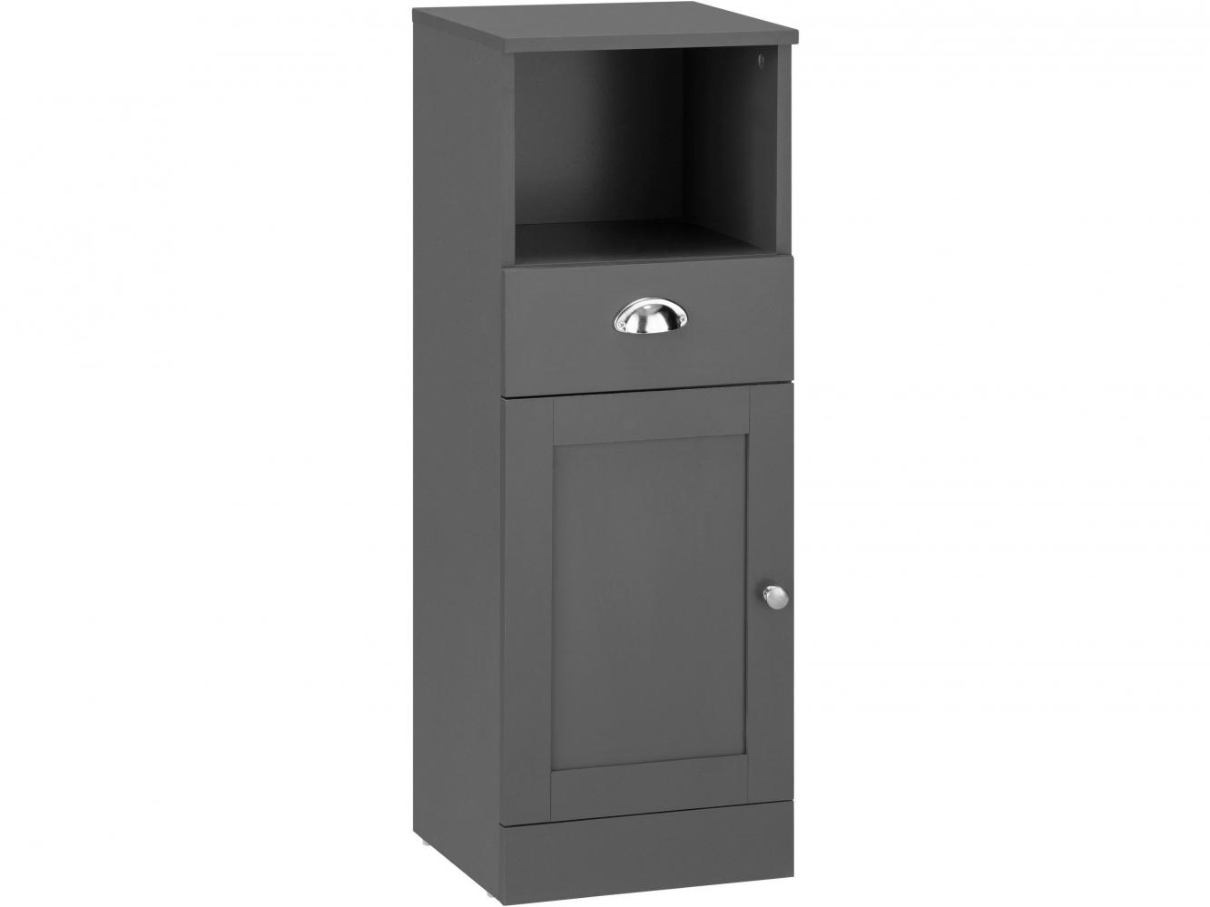 Koupelnová skříňka Kiley I., 90 cm, šedá