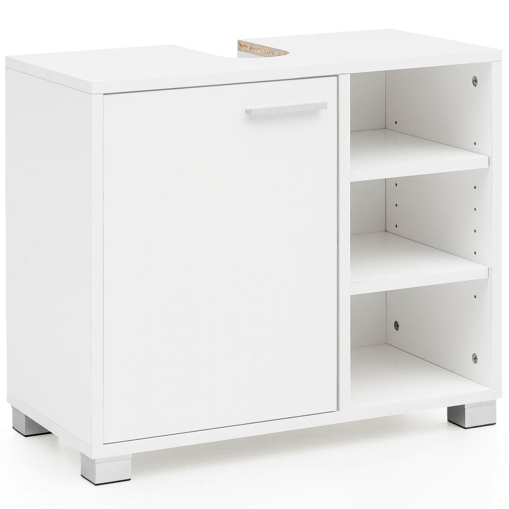Koupelnová skříňka Lela, 60 cm, bílá