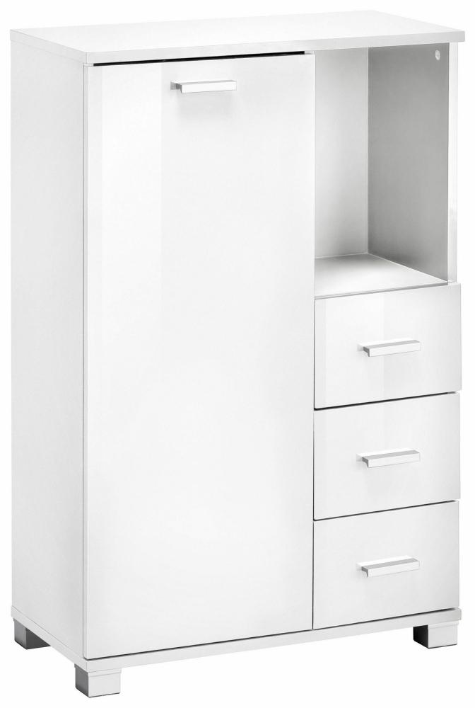 Koupelnová skříňka Ronda I., 90 cm, bílá