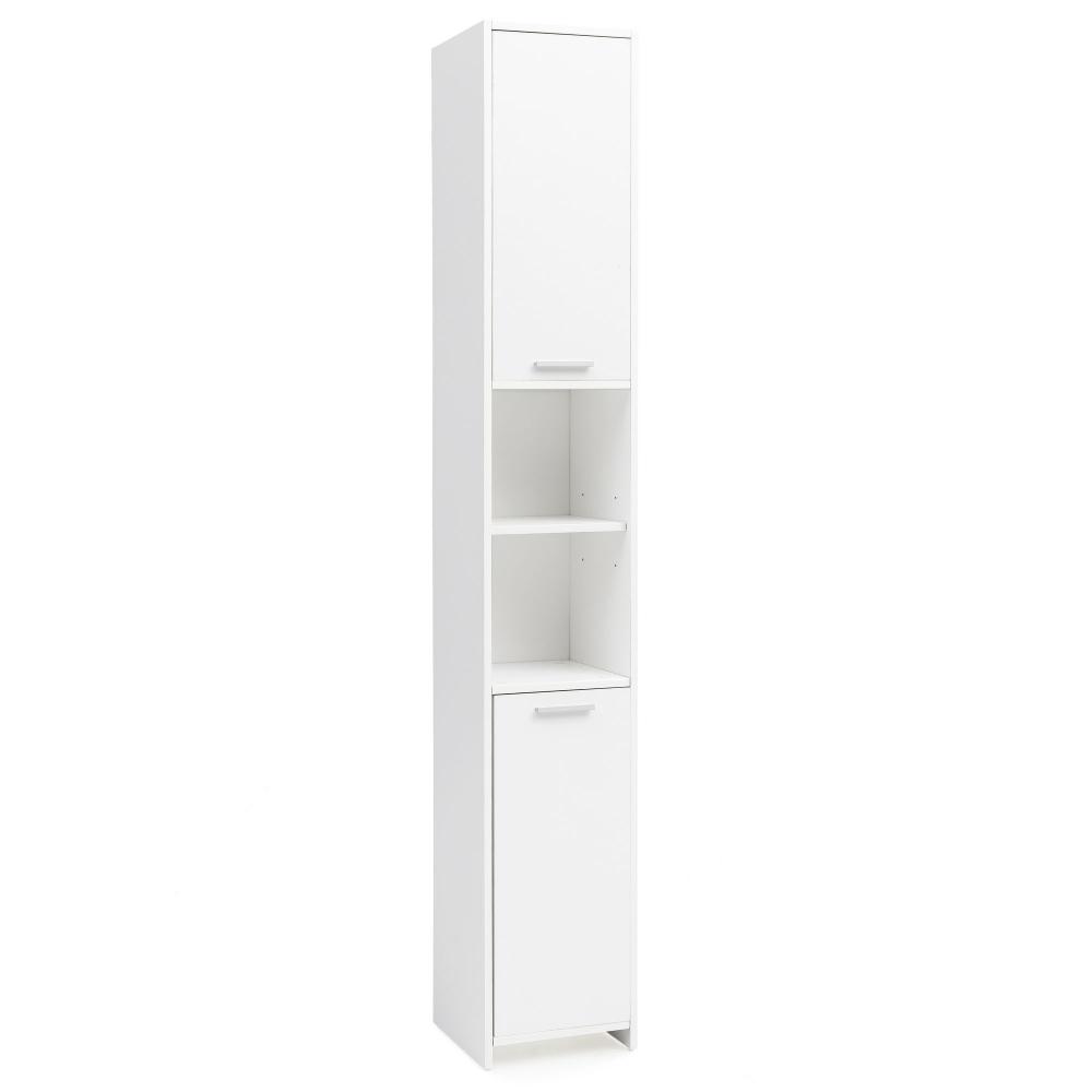 Koupelnová skříňka Saba, 190 cm, bílá