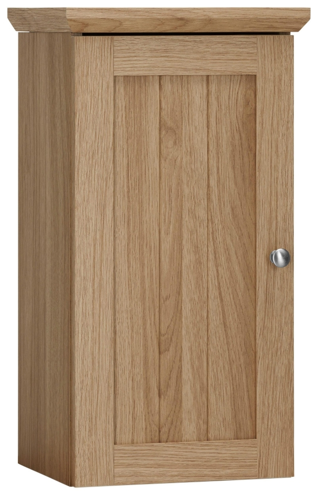 Koupelnová závěsná skříňka Amigo, 60 cm, dub