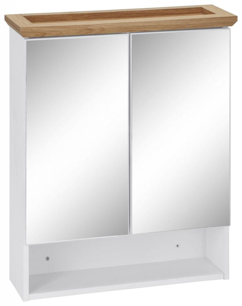 Koupelnová závěsná skříňka Amigo, 75 cm, bílá