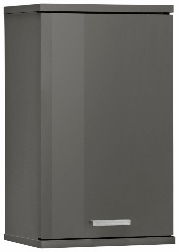 Koupelnová závěsná skříňka Ronda, 50 cm, šedá