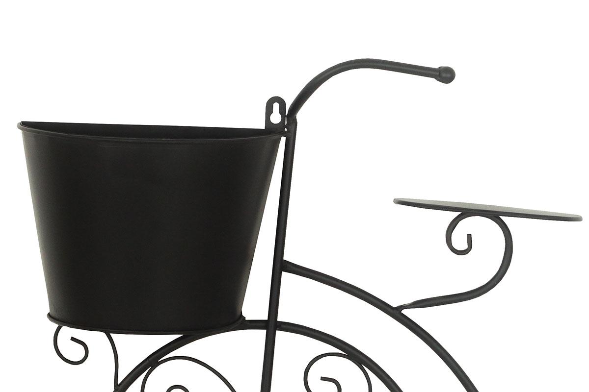 Kovová dekorace Bicycle, 75 cm, černá