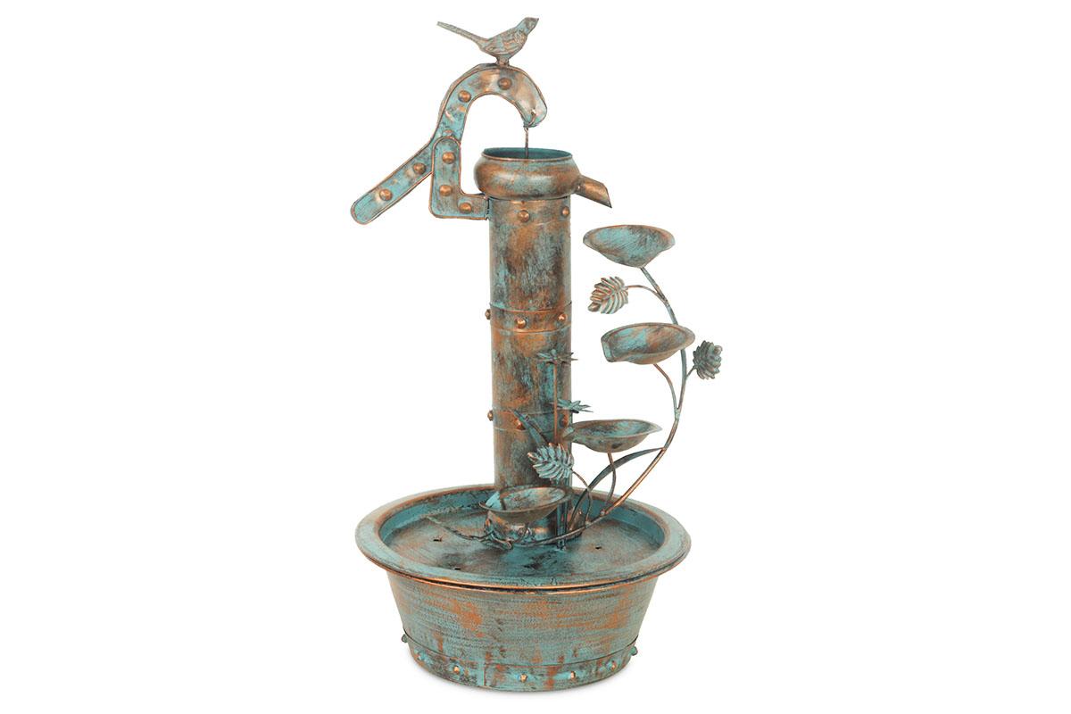 Kovová dekorace Fontána, 53 cm