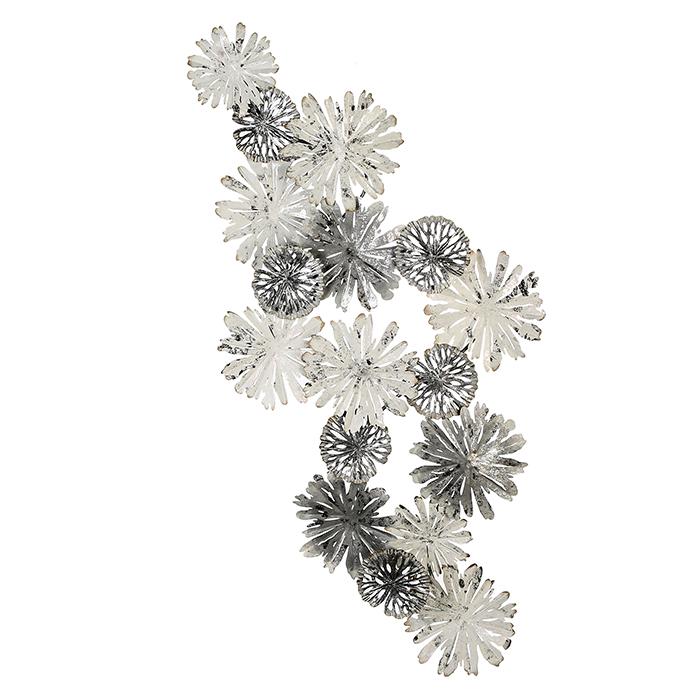 Kovová nástěnná dekorace Blanc, 150 cm