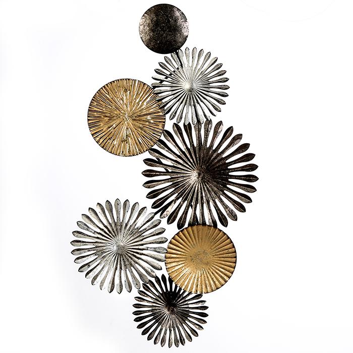 Kovová nástěnná dekorace Rustic, 88 cm