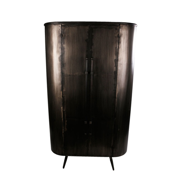 Kovová skříň s dveřmi Empire, 176 cm