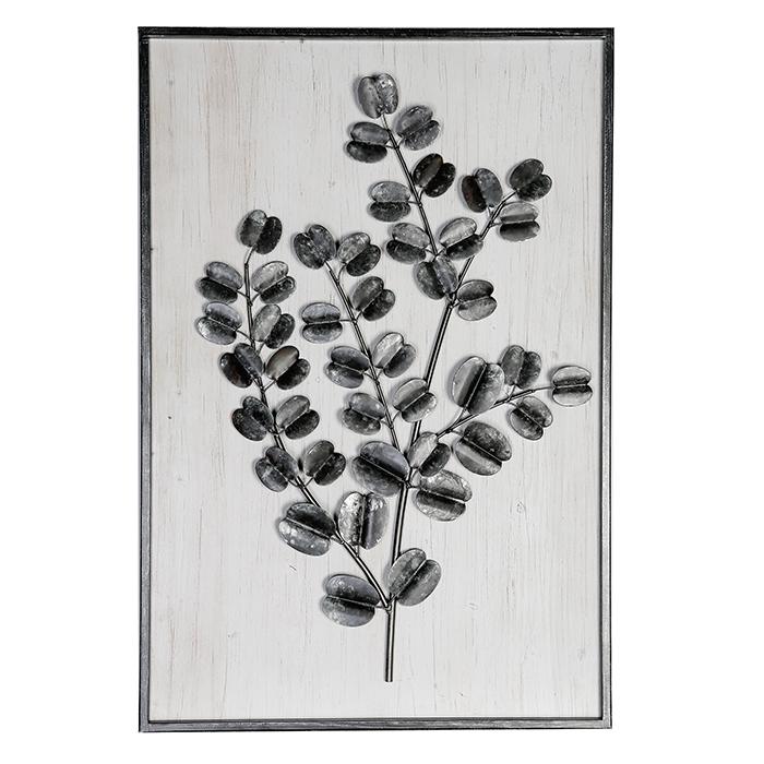 Kovový obraz Big Branch, 95 cm