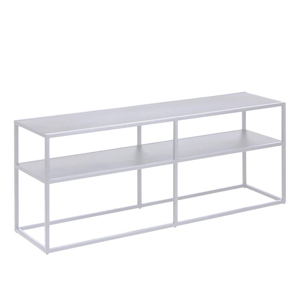 Kovový TV stolek Lyfte, 120 cm, bílá