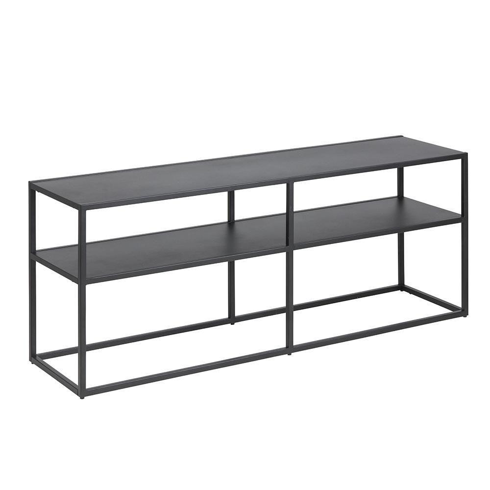 Kovový TV stolek Lyfte, 120 cm, černá