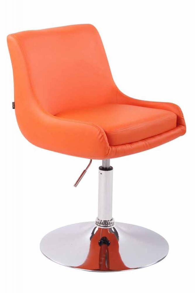 Křeslo Club, oranžová