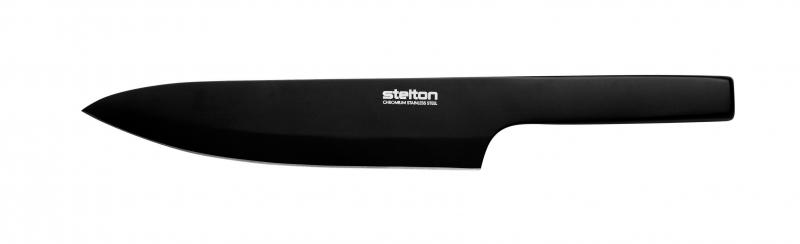 Kuchyňský nůž pro šéfkuchaře Pure Black, 34,3 cm
