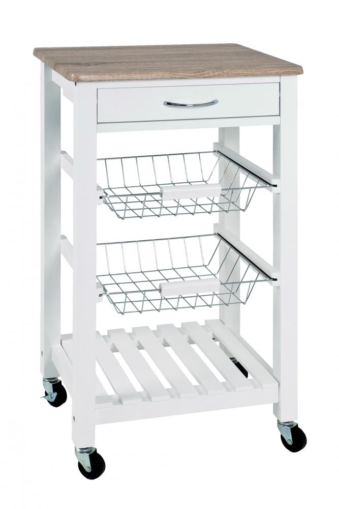 Kuchyňský servírovací stolek Dobby, 84 cm