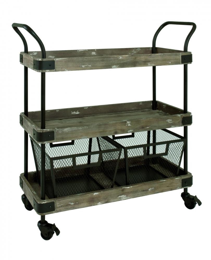 Kuchyňský vozík Bela, 96 cm