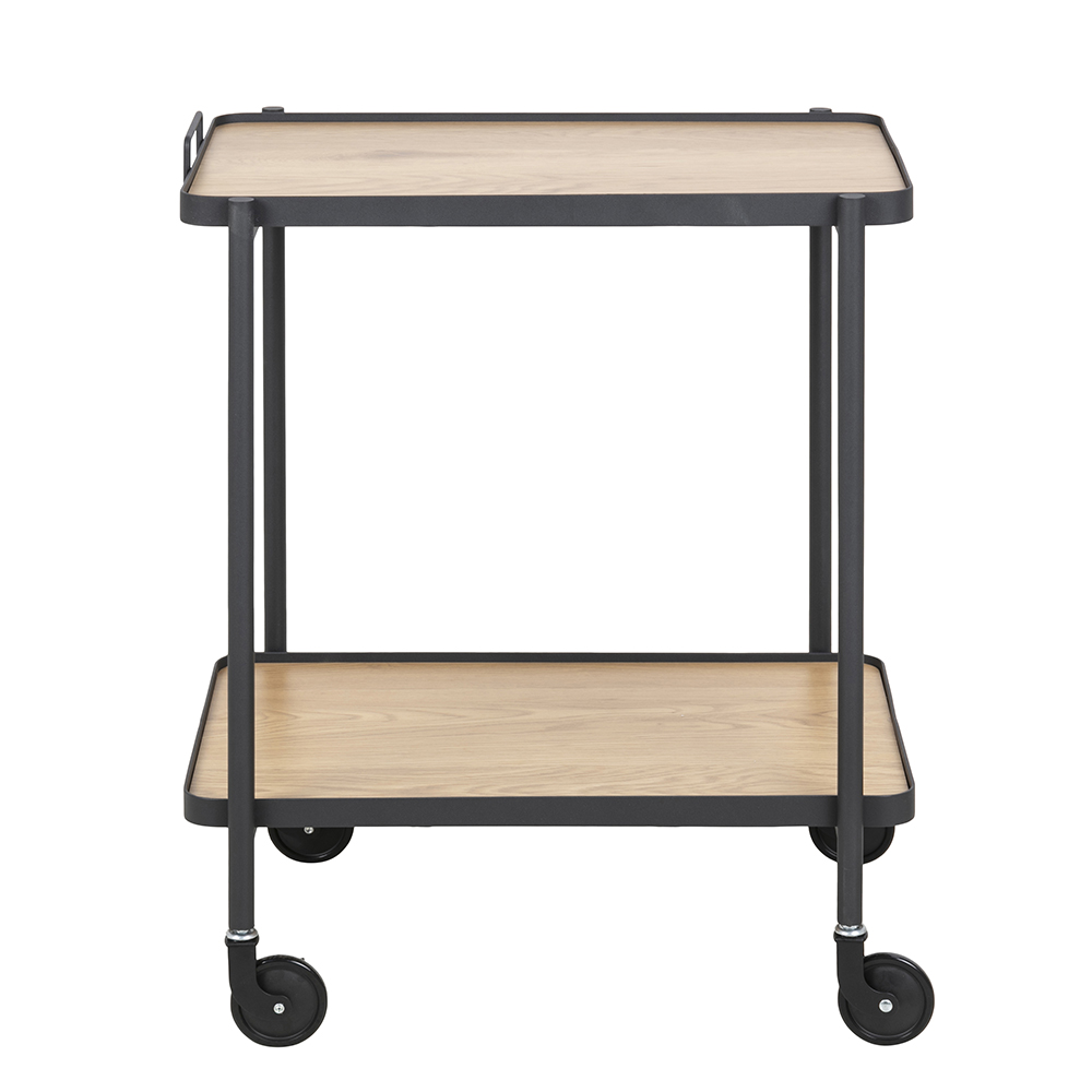 Kuchyňský vozík Carmina, 56 cm, divoký dub