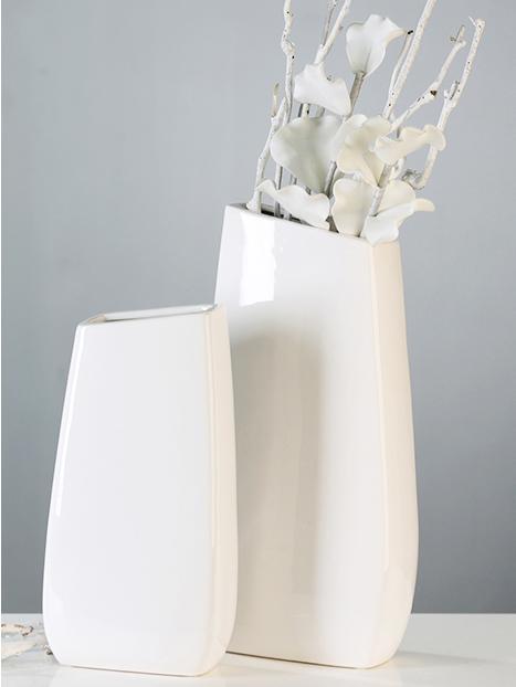 Květináč keramický vysoký Ancona, 30 cm