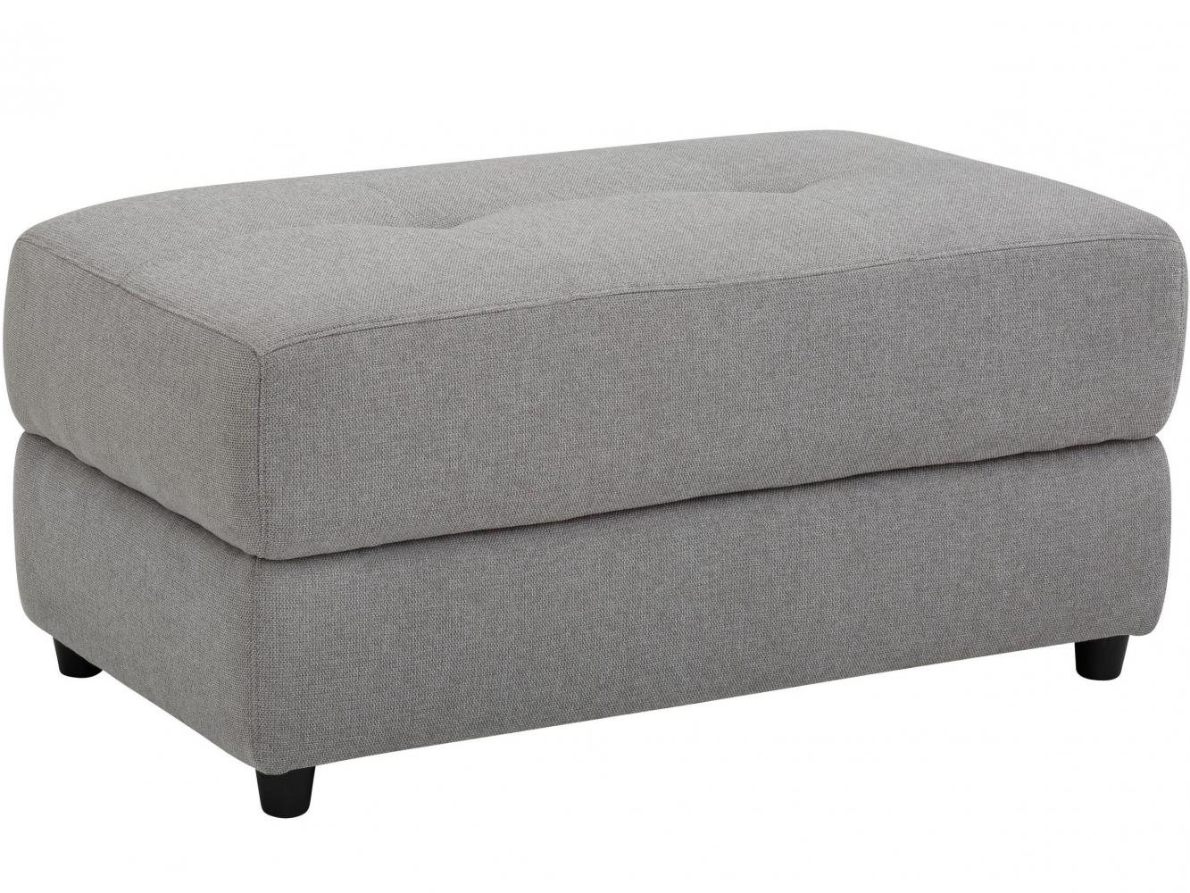 Lavice Cepan, 105 cm, textil, šedá