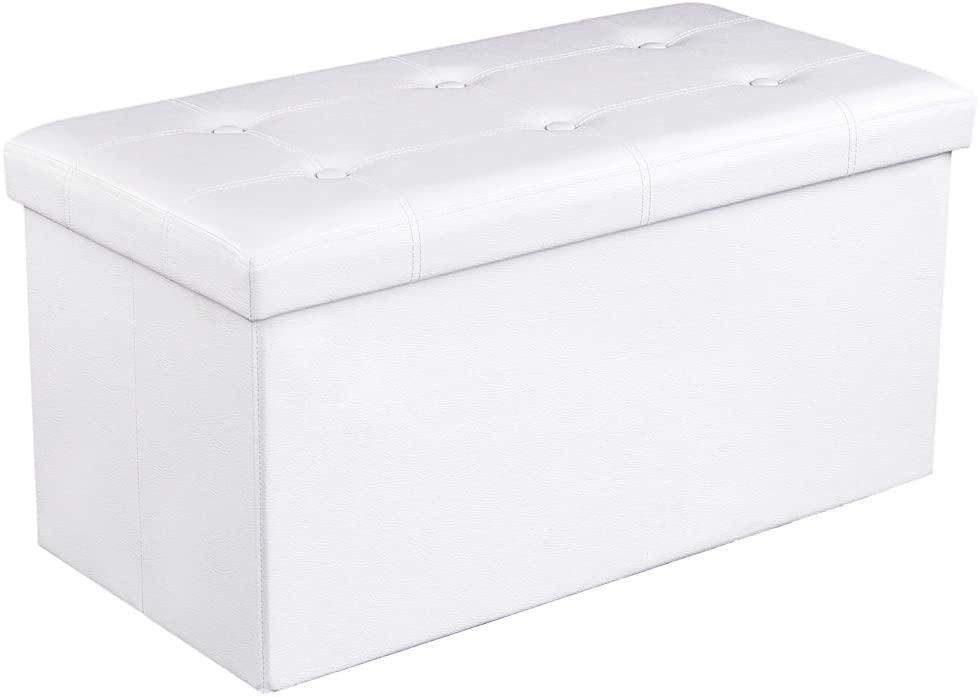 Lavice Ganys, 38 cm, bílá