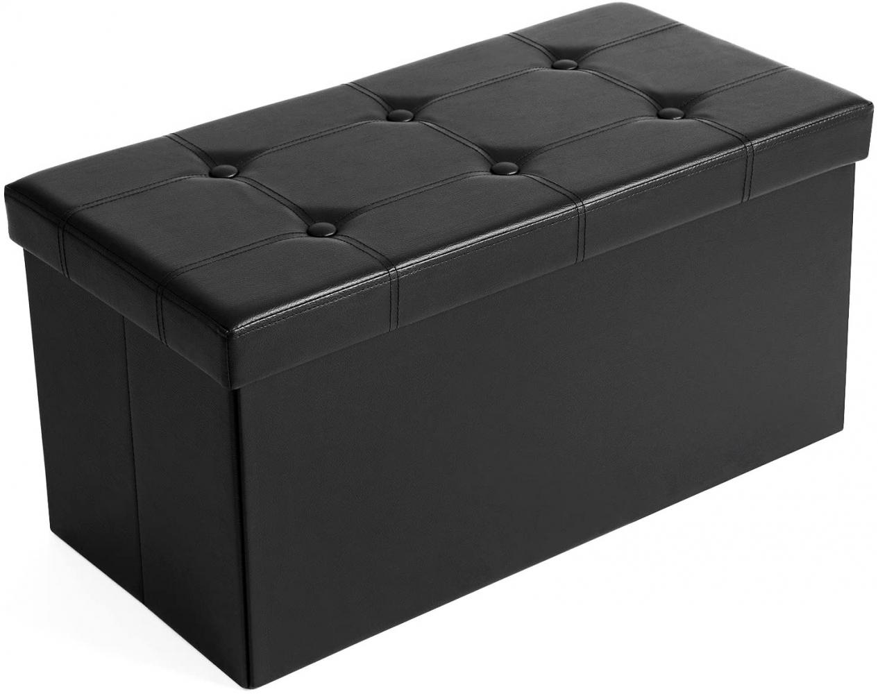 Lavice Ganys, 38 cm, černá