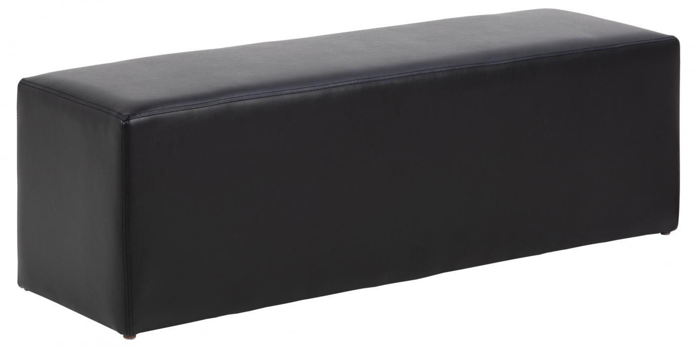 Lavice / taburet Brita, černá