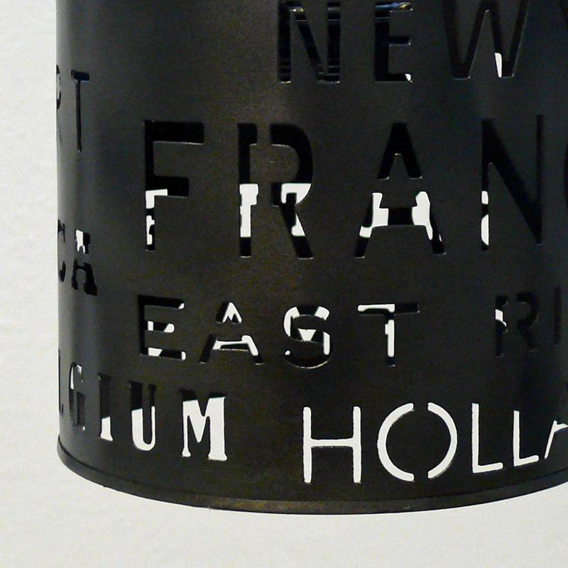 Lustr kovový Urban, 17 cm