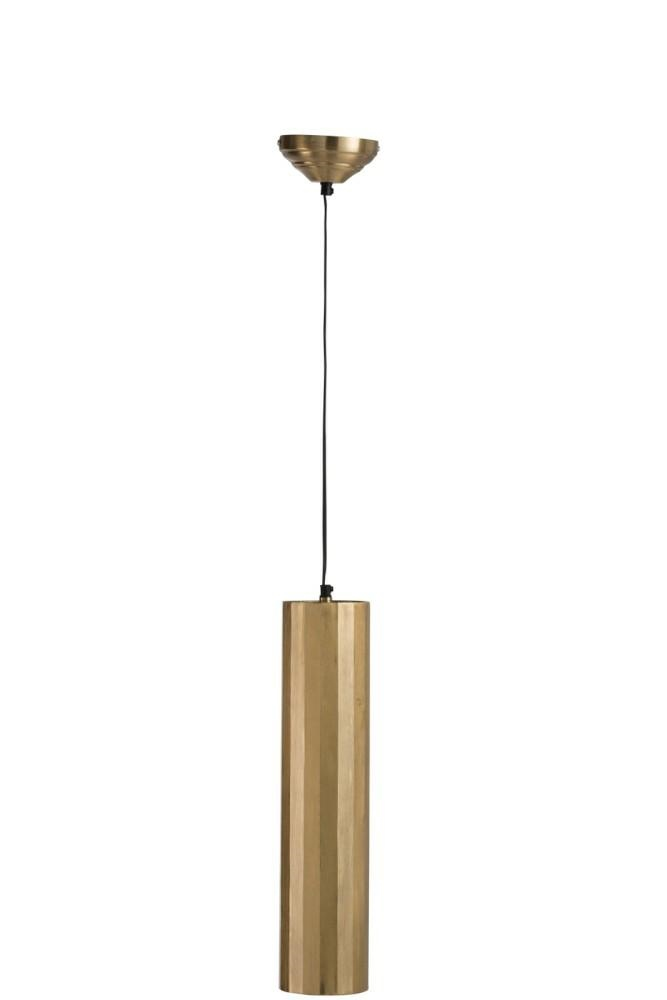Lustr s kovovým stínidlem Lopp, zlatá
