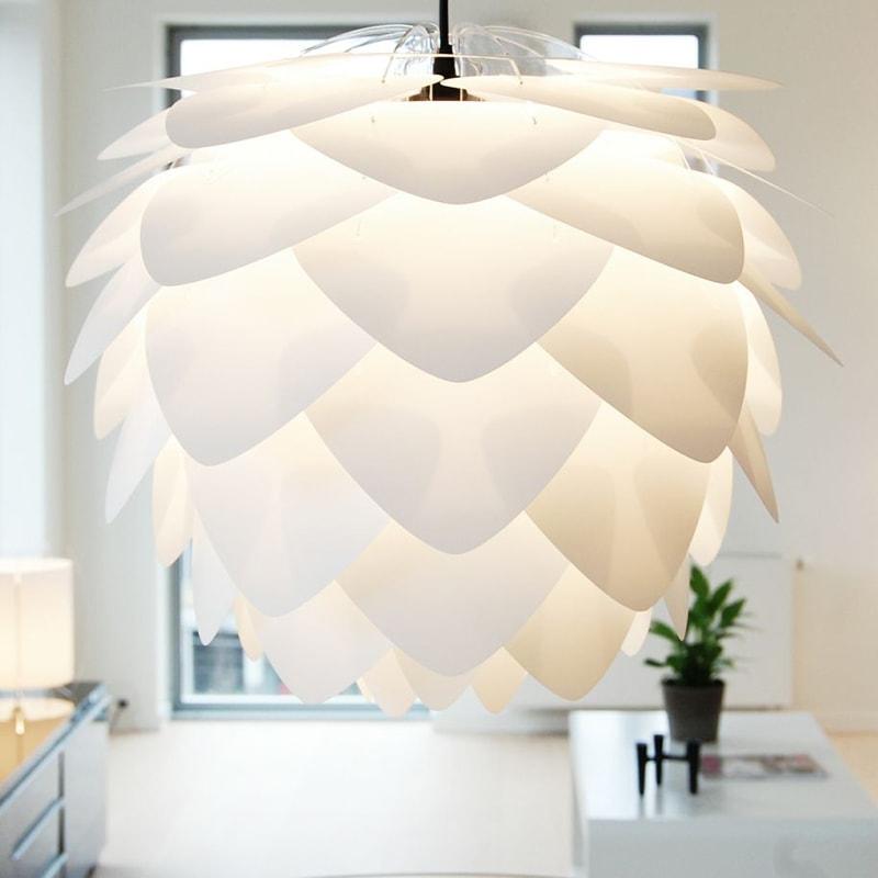 Svítidlo / lustr závěsný VITA Silvia, bílá