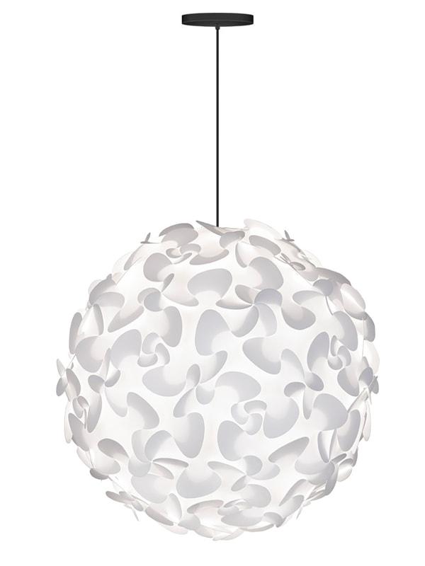 Svítidlo / lustr závěsný VITA Lora XL, bílá