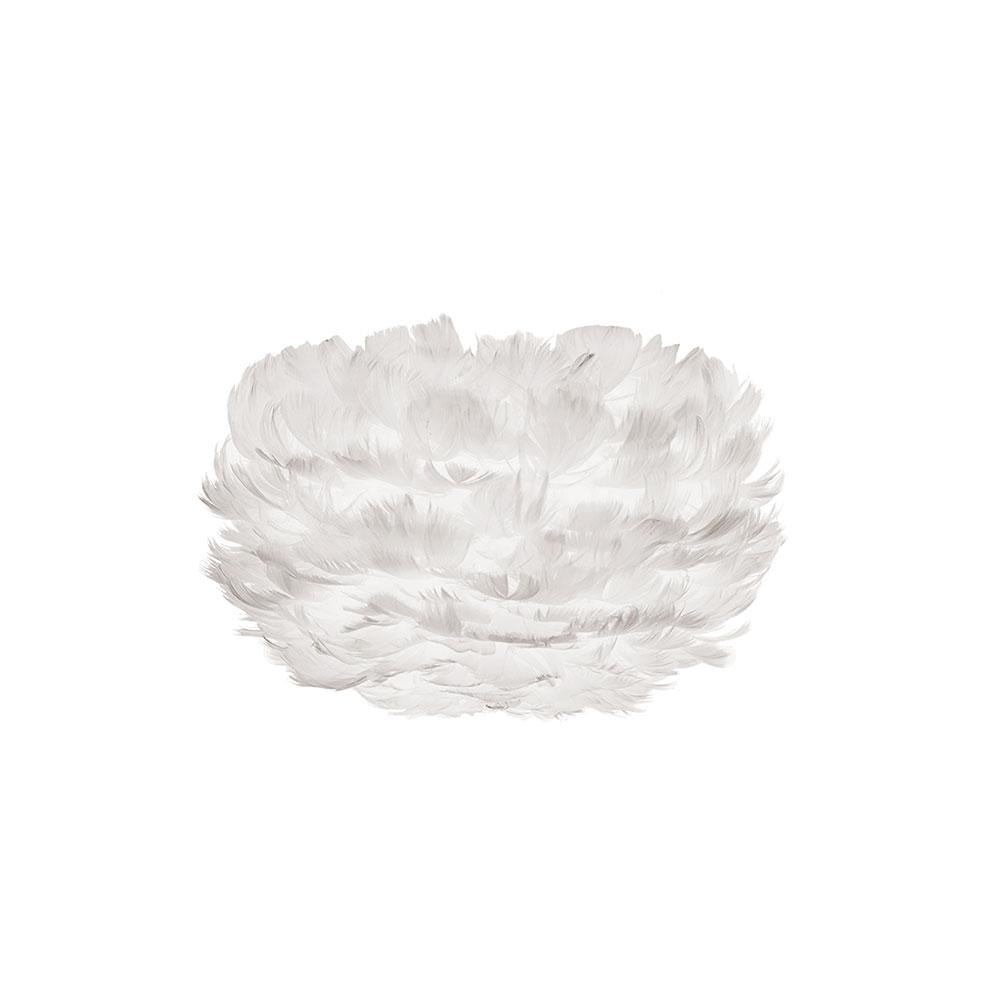 Svítidlo / lustr závěsný z husího peří VITA Eos micro, bílá