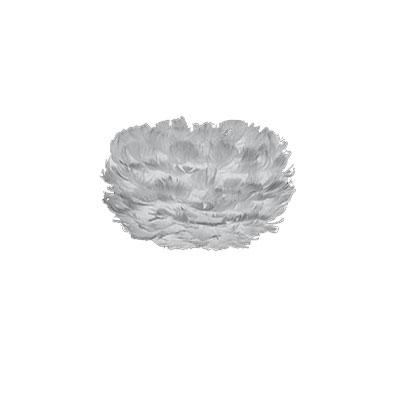 Svítidlo / lustr závěsný z husího peří VITA Eos micro, šedá