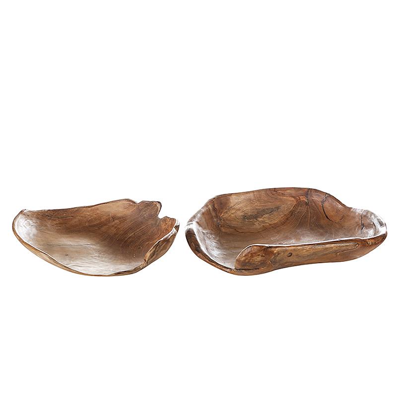 Mísa kulatá teaková Holz, 40 cm